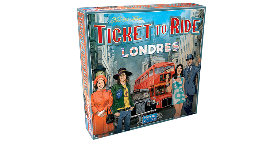 Ticket to ride Londres