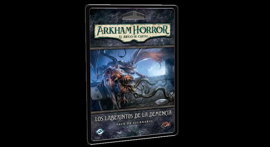 Arkham Horror los laberintos de la demencia