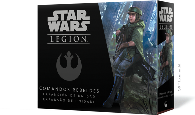 Comandos rebeldes star wars Legion