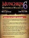 Munchkin 6 Mazmorras Majaretas Reglas de Juego