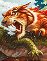 Mighty Tiger Playmat