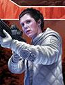 Leia Organa, Commandant Rebelle