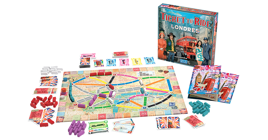 ticket to ride Londres español