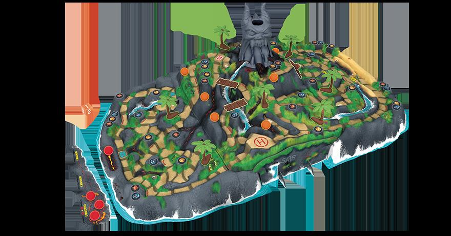 La isla maldita juego de mesa