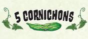 5 cornichons