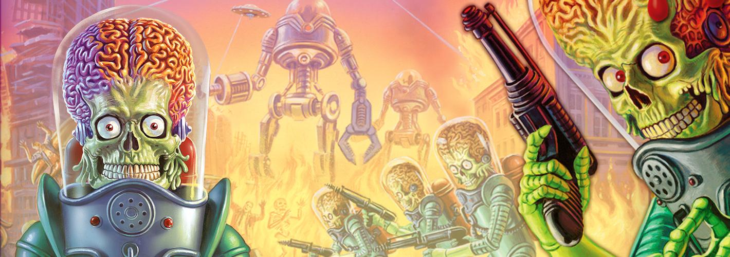 Mars Attacks – Le jeu de Dés