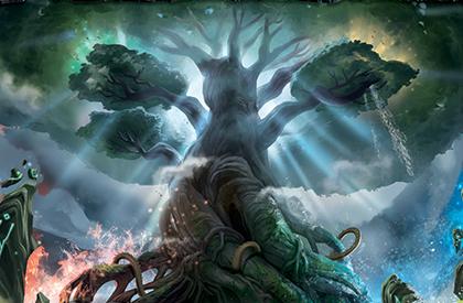 Recorre el Árbol de los Mundos