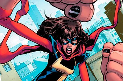 Toda una heroína Marvel