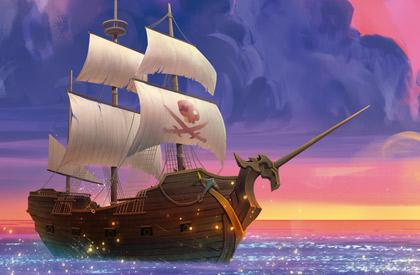 Bajel pirata que llaman