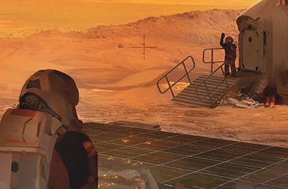 Ahora Marte es un lugar más acogedor