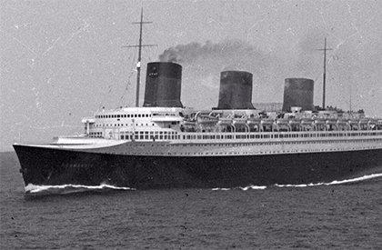 Transporte marítimo en los años 30