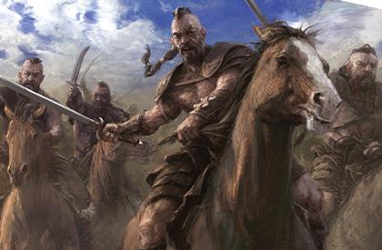 Los guerreros más diestros del Khalasar