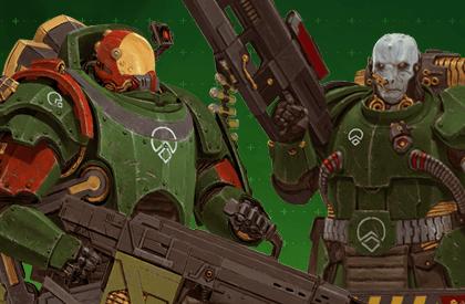 Parmi les Troupes de l'Escadron Vert