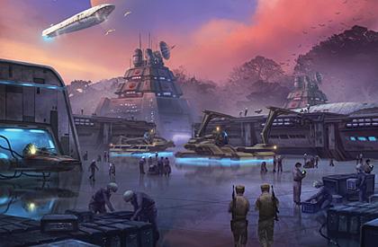 En medio de la Guerra Civil Galáctica