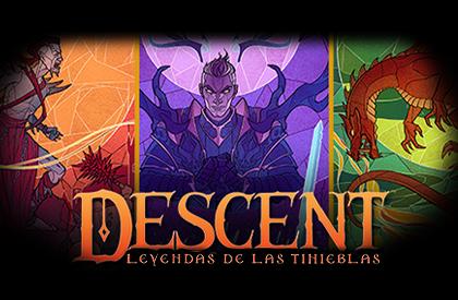 Los villanos de Descent: Leyendas de las tinieblas