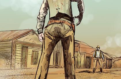 El último pistolero en pie
