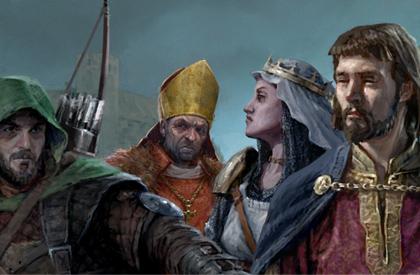 En la corte del Rey Ricardo