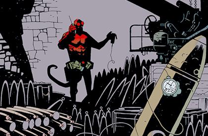 Gute nacht, agente Hellboy