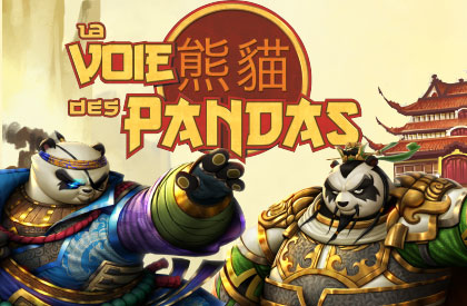 Pandas contre Ninjas!