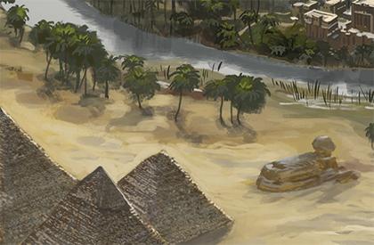 Le Caire, Dahchour et Nephran-Ka