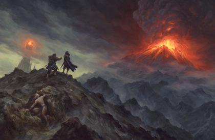 La Montaña de Fuego
