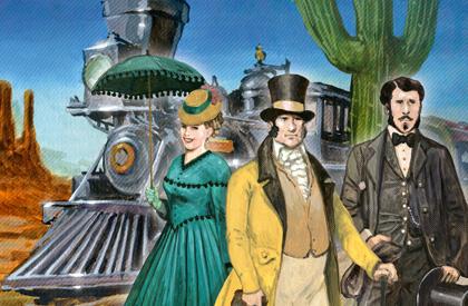 ¡Aventureros al tren! Francia y Viejo Oeste
