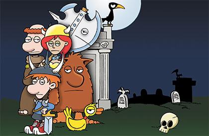Portes, Monstres, Très Morts!
