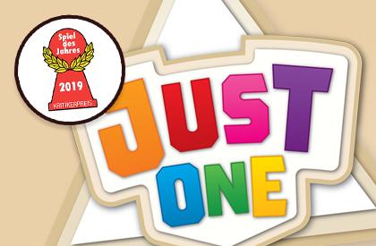 Just One ha sido premiado con el Spiel des Jahres 2019