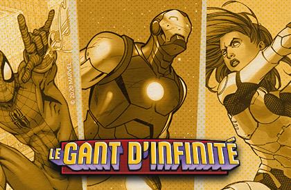Le Gant d'Infinité : Un jeu Love Letter™