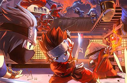 L'Ultime Affrontement de Ninjas