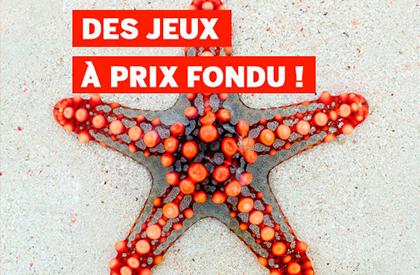 Des Jeux à Prix Fondus ! FFG