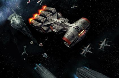 Las naves de línea en batalla