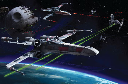 Star Wars : X-Wing Superstar !