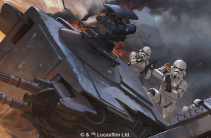 AT-ST Derribado