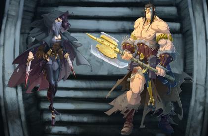 Únete a los héroes legendarios