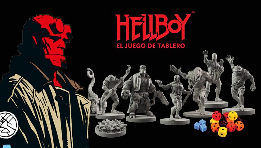 Hellboy el juego de tablero