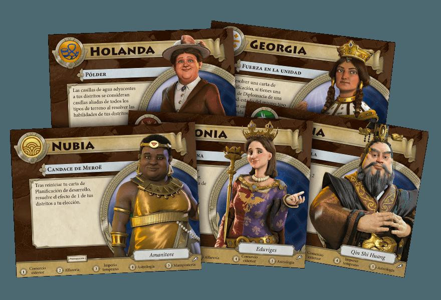 Personajes - Terra Incognita