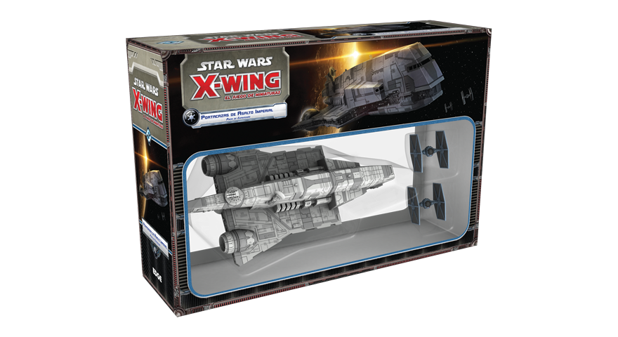 Star Wars X-wing: Portacazas de Asalto Imperial