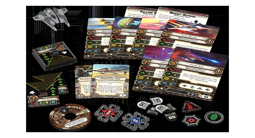 x-wing caza estelar del protectorado