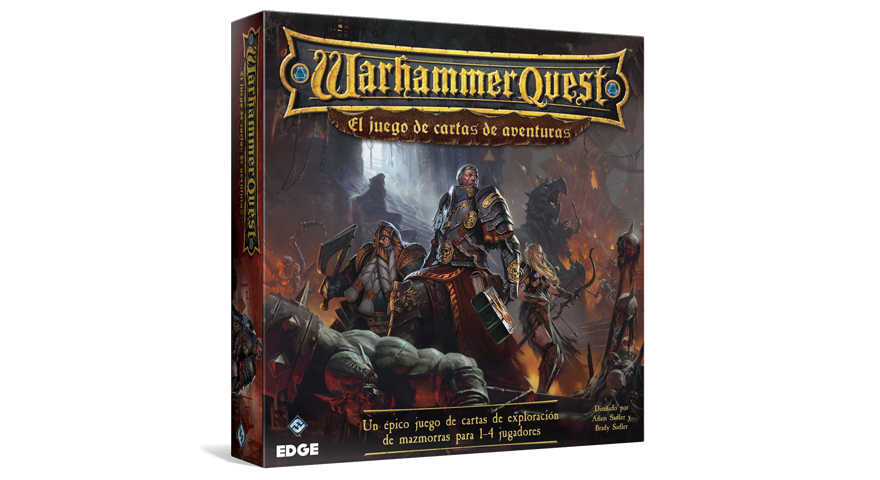 warhammer quest el juego de cartas de aventuras
