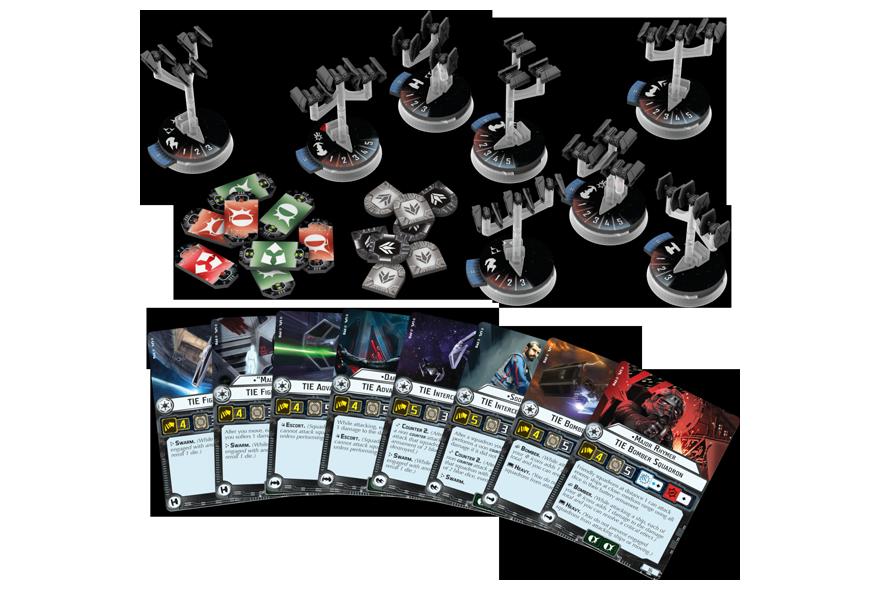 Comprar Star Wars Armada Escuadrones De Caza Imperiales Expansion