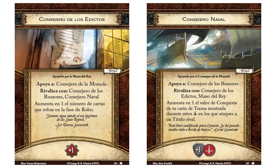 juego de tronos lcg segunda edición