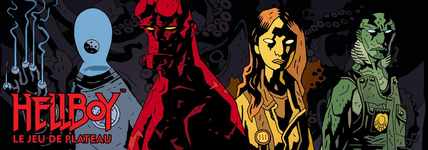 Hellboy : Le Jeu de Plateau |